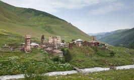 Mountainous village Royalty Free Stock Photography