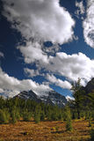 Mountainous Wilderness of Banff Canada Stock Images