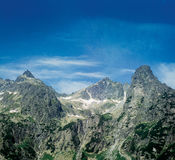 Mountains. The High Tatras, Slovakia royalty free stock image
