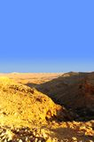 Mountains. Landscape Of Galilee Mountains an Hour Before Sunset Royalty Free Stock Photography