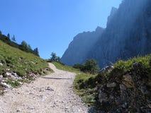 Mountains. A day in the austrian mountains, Karwendel Stock Photo