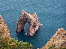 Mountains. Black sea. Karadag reserve. Crimea. Ukraine stock photo