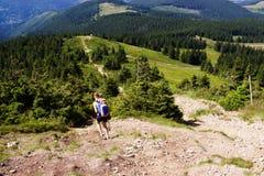 Mountains. Somewhere on the mountain trip Royalty Free Stock Photo