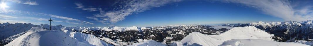 Mountains. Fellhorn, a peak in the Bavarian Alps Stock Photo