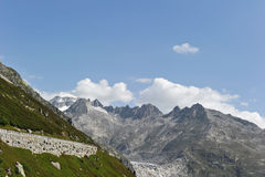 Mountains. Landscape with swiss rocky mountains Stock Photo