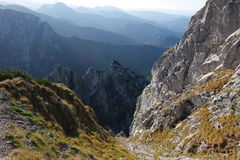 Mountains. Autumn landscape in mountains - Tatry Poland stock photography