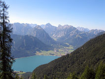 Mountains. A day in the austrian mountains Royalty Free Stock Image