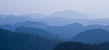 Mountains. In guangdong of china Royalty Free Stock Photography