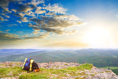 In mountains. Royalty Free Stock Image