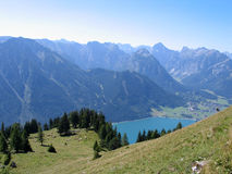Mountains. A day in the austrian mountains Stock Image