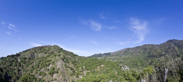 Mountains. In barcellona pozzo di gotto, messina sicily Royalty Free Stock Images
