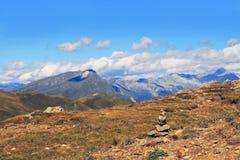 On the mountains Stock Photo
