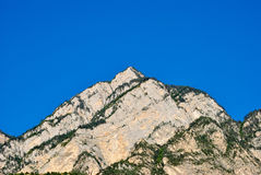 Mountains. Against the blue sky Royalty Free Stock Photos