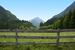 Mountains. A day in the bavarian mountains Royalty Free Stock Photos