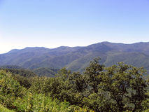 Mountains. Blue ridge mountains royalty free stock photography