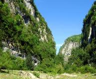 Mountains. Mountain gorge (Abkhazia Royalty Free Stock Image