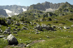 Mountains. Caucasus in Adygea, Russia Royalty Free Stock Photo