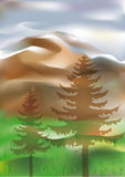 Mountains. This image is a vector illustration and can be scaled to any size without loss of resolution. This image will download as an AI file. You will need a Stock Images