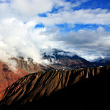 Mountains. The mountains of tibet is huge royalty free stock photography