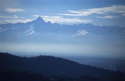 Mountains. Beautiful mountain peak from Alps Royalty Free Stock Photos