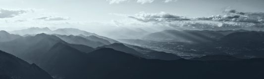 Mountains. Panorama Stock Photography