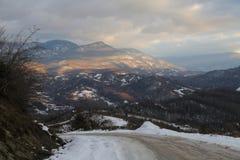 Mountains of Abkhazia. View of the mountains of Abkhazia from Russia Stock Photo