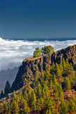 Mountains Above the clouds Royalty Free Stock Images