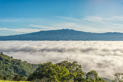 Mountains above clouds Royalty Free Stock Photo