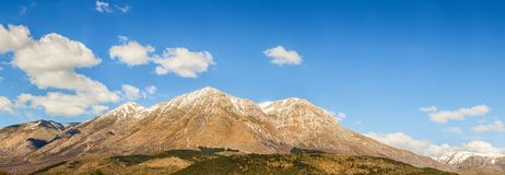 The mountains of Abruzzo Italy. An overview of the mountains of Abruzzo Italy Royalty Free Stock Image