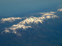 Mountains aerial Royalty Free Stock Images