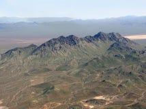 Mountains aerial view Stock Photo