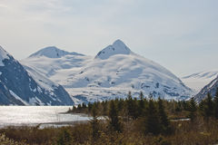 Mountains in Alaska Royalty Free Stock Photo