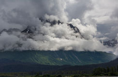 Mountains in Alaska Royalty Free Stock Images