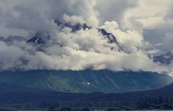 Mountains in Alaska Royalty Free Stock Photography
