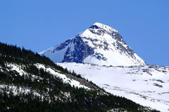 Mountains of Alaska (Peak) Royalty Free Stock Photos