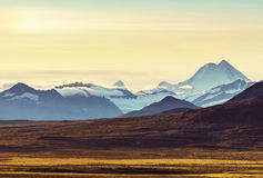 Mountains in Alaska Stock Image