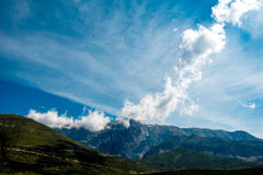 Mountains in Albania Royalty Free Stock Photography