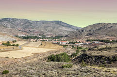 Mountains of Albarracin Royalty Free Stock Images