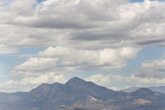 Mountains of Alicante in Spain. Royalty Free Stock Images