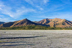 Mountains along the way to Mount Pinatubo Crater Lake Royalty Free Stock Photography