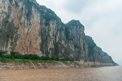 Mountains along the Yangtze Stock Photography