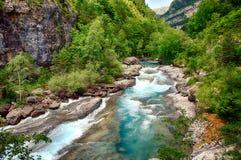 Alpine rills in teh Spanish Pyrenees. Stock Image