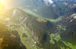 Mountains of Alps. Royalty Free Stock Photo