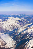 Mountains Alps at Austria Royalty Free Stock Photos