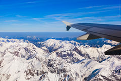 Mountains Alps at Austria Royalty Free Stock Images