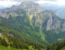 Gorgeous Mountains in Germany Stock Image