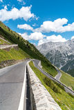Mountains Alps Passo Stelvio Royalty Free Stock Image
