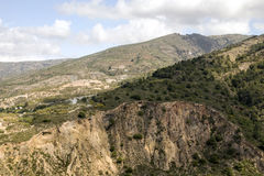 Mountains of the Alpujarras Royalty Free Stock Photo
