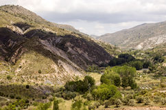 Mountains of the Alpujarras Stock Images