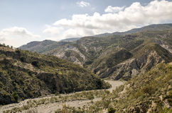Mountains of the Alpujarras Royalty Free Stock Image